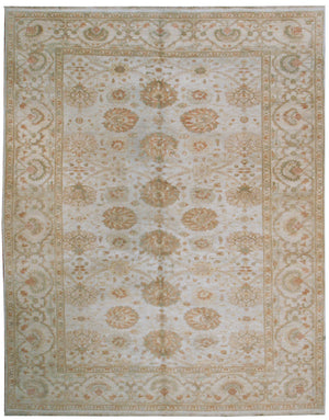 ik2033 - Classic Zeigler Rug (wool) - 8' x 10' | OAKRugs by Chelsea affordable wool rugs, handmade wool area rugs, wool and silk rugs contemporary