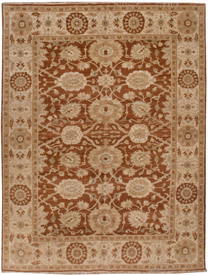 ik2049 - Classic Zeigler Rug (Wool) - 8' x 10' | OAKRugs by Chelsea affordable wool rugs, handmade wool area rugs, wool and silk rugs contemporary