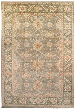 ik2053 - Classic Zeigler Rug (Wool) - 9' x 12' | OAKRugs by Chelsea affordable wool rugs, handmade wool area rugs, wool and silk rugs contemporary