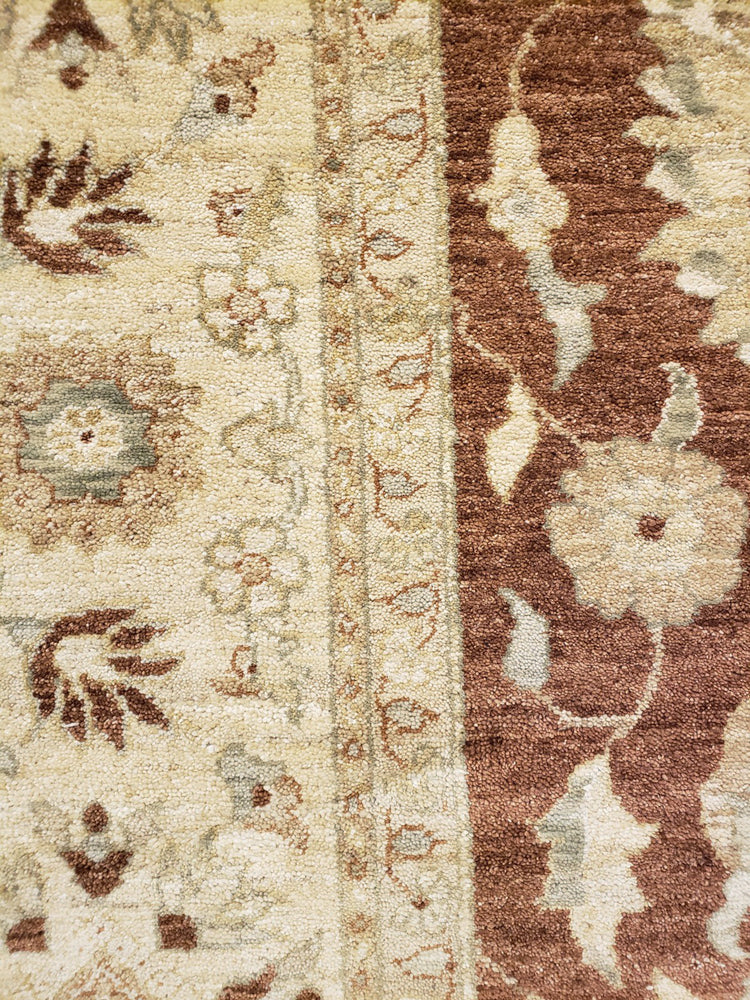 ik2061 - Classic Zeigler Rug (Wool) - 9' x 12' | OAKRugs by Chelsea high end wool rugs, hand knotted wool area rugs, quality wool rugs