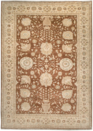 ik2061 - Classic Zeigler Rug (Wool) - 9' x 12' | OAKRugs by Chelsea affordable wool rugs, handmade wool area rugs, wool and silk rugs contemporary