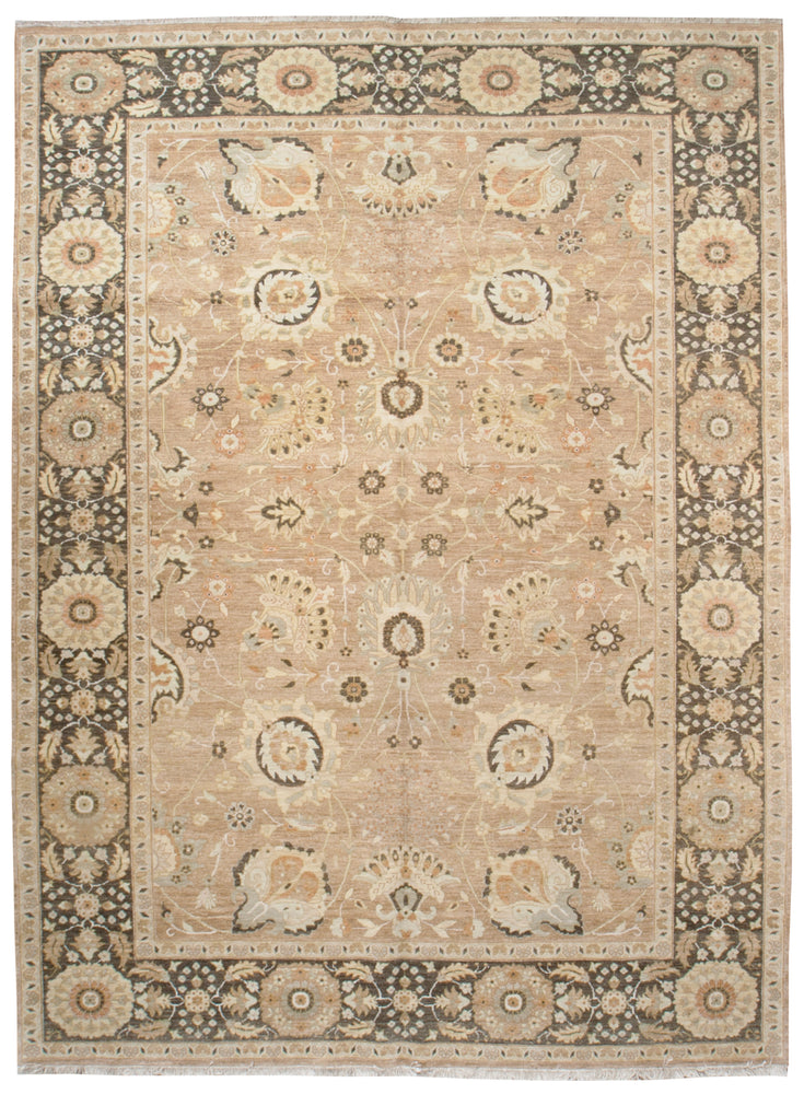 ik2092 - Classic Zeigler Rug (Wool) - 9' x 12' | OAKRugs by Chelsea affordable wool rugs, handmade wool area rugs, wool and silk rugs contemporary