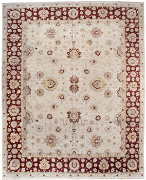 ik2168 - Classic Agra Rug (Wool) - 12' x 15' | OAKRugs by Chelsea high end wool rugs, hand knotted wool area rugs, quality wool rugs