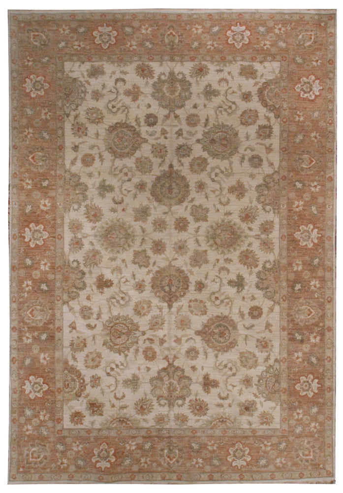 ik2171 - Classic Zeigler Rug (Wool) - 9' x 12' | OAKRugs by Chelsea affordable wool rugs, handmade wool area rugs, wool and silk rugs contemporary