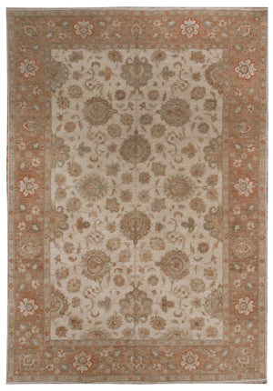 ik2171 - Classic Zeigler Rug (Wool) - 9' x 12' | OAKRugs by Chelsea high end wool rugs, hand knotted wool area rugs, quality wool rugs