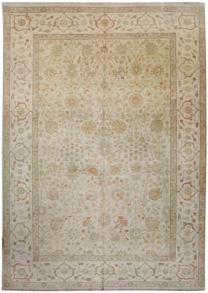 ik2182 - Classic Tabriz Rug (Wool) - 9' x 12' | OAKRugs by Chelsea high end wool rugs, hand knotted wool area rugs, quality wool rugs