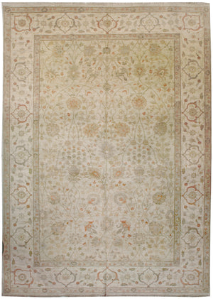 ik2182 - Classic Tabriz Rug (Wool) - 9' x 12' | OAKRugs by Chelsea affordable wool rugs, handmade wool area rugs, wool and silk rugs contemporary