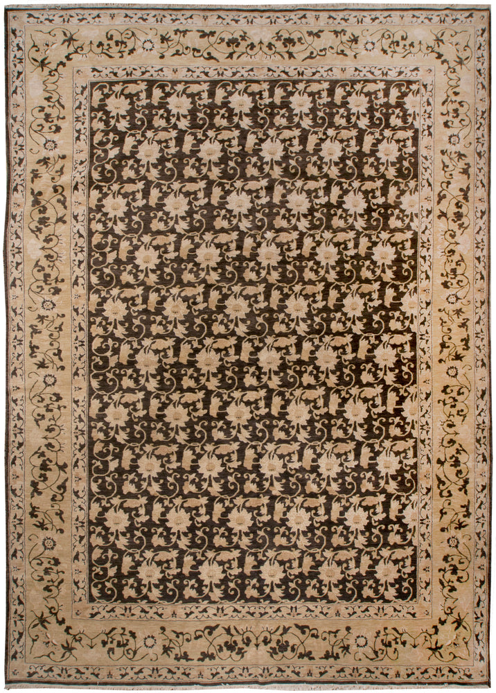 ik2197 - Classic Zeigler Rug (wool) - 10' x 14' | OAKRugs by Chelsea affordable wool rugs, handmade wool area rugs, wool and silk rugs contemporary