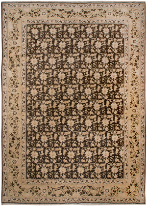 ik2197 - Classic Zeigler Rug (wool) - 10' x 14' | OAKRugs by Chelsea high end wool rugs, hand knotted wool area rugs, quality wool rugs