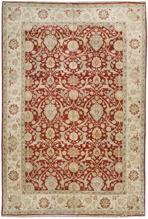 ik2204 - Classic Zeigler Rug (Wool) - 9' x 13' | OAKRugs by Chelsea affordable wool rugs, handmade wool area rugs, wool and silk rugs contemporary