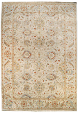 ik2205 - Classic Zeigler Rug (Wool) - 9' x 12' | OAKRugs by Chelsea affordable wool rugs, handmade wool area rugs, wool and silk rugs contemporary