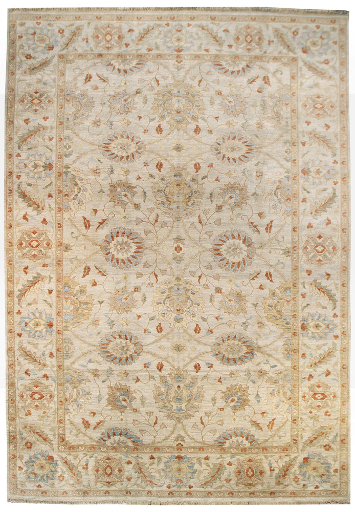 ik2205 - Classic Zeigler Rug (Wool) - 9' x 12' | OAKRugs by Chelsea high end wool rugs, hand knotted wool area rugs, quality wool rugs