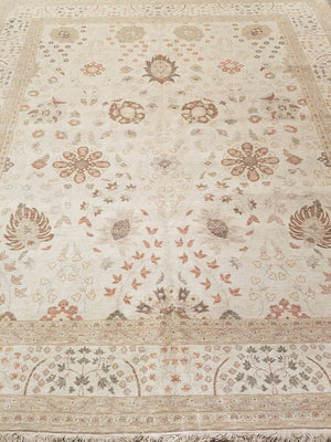 ik2330 - Classic Tabriz Rug (Wool) - 8' x 10' | OAKRugs by Chelsea wool bohemian rugs, good quality wool rugs, vintage wool braided rug