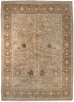 ik2357 - Classic Zeigler Rug (Wool) - 8' x 10' | OAKRugs by Chelsea affordable wool rugs, handmade wool area rugs, wool and silk rugs contemporary