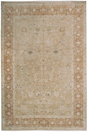 ik2359 - Classic Tabriz Rug (wool) - 10' x 14' | OAKRugs by Chelsea affordable wool rugs, handmade wool area rugs, wool and silk rugs contemporary