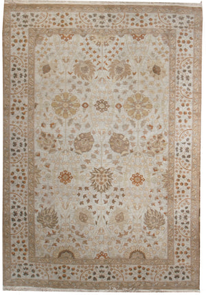 ik2377 - Classic Zeigler Rug (Wool) - 6' x 9' | OAKRugs by Chelsea affordable wool rugs, handmade wool area rugs, wool and silk rugs contemporary