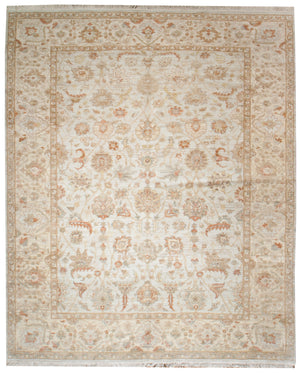 ik2382 - Classic Zeigler Rug (Wool) - 8' x 10' | OAKRugs by Chelsea affordable wool rugs, handmade wool area rugs, wool and silk rugs contemporary