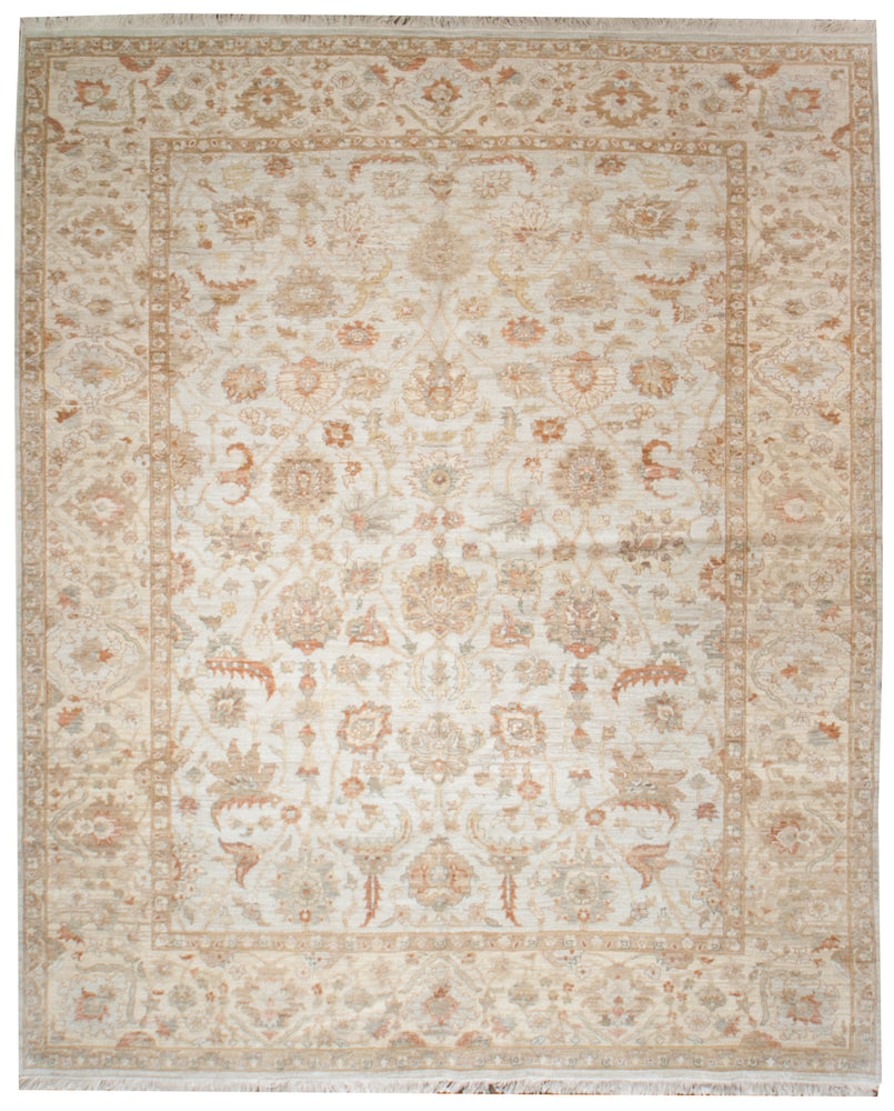 ik2382 - Classic Zeigler Rug (Wool) - 8' x 10' | OAKRugs by Chelsea high end wool rugs, hand knotted wool area rugs, quality wool rugs