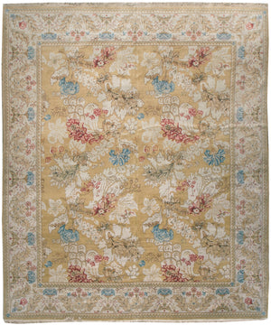 ik2400 - European Besserebian Rug (Wool) - 8' x 10' | OAKRugs by Chelsea affordable wool rugs, handmade wool area rugs, wool and silk rugs contemporary