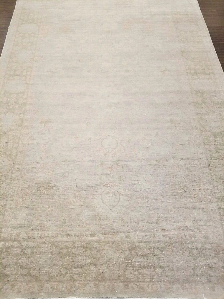 ik2417 - Classic Zeigler Rug (Wool) - 6' x 9' | OAKRugs by Chelsea wool bohemian rugs, good quality wool rugs, vintage wool braided rug