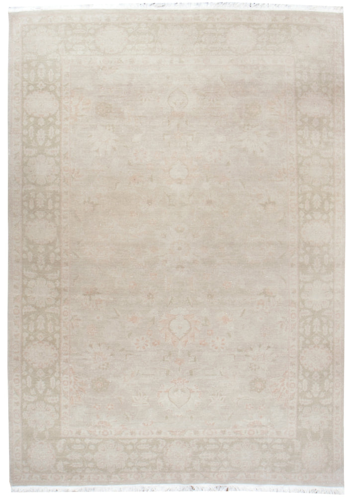ik2417 - Classic Zeigler Rug (Wool) - 6' x 9' | OAKRugs by Chelsea affordable wool rugs, handmade wool area rugs, wool and silk rugs contemporary