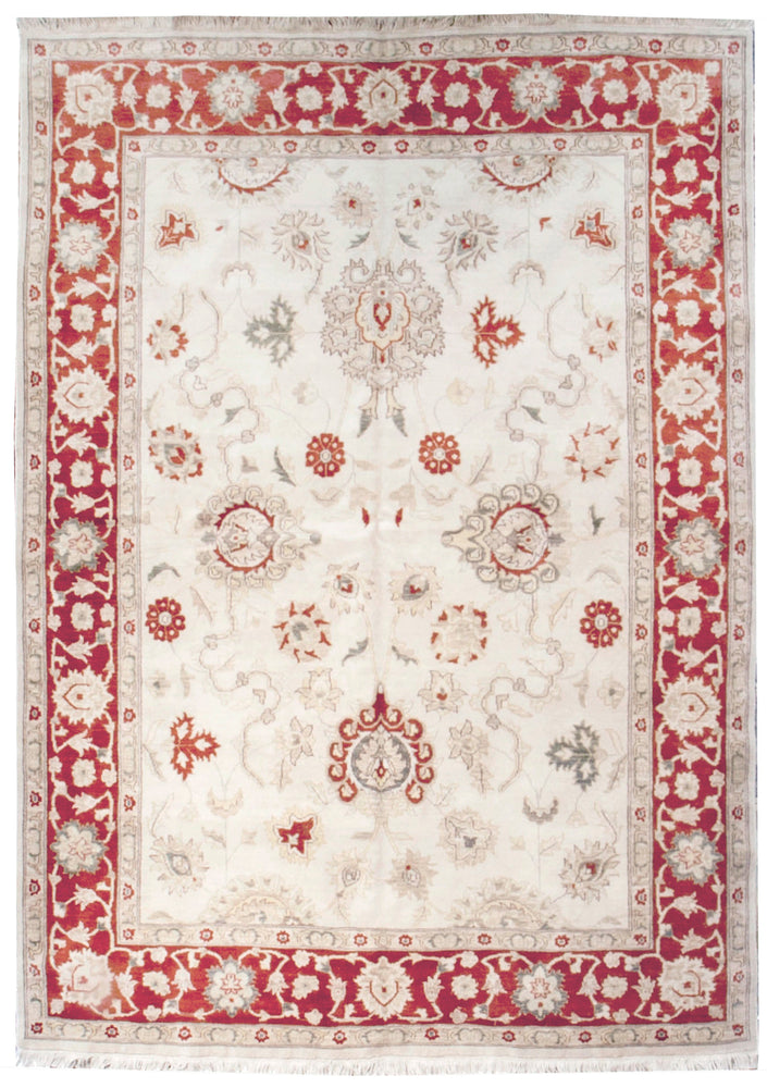ik2445 - Classic Tabriz Rug (Wool) - 6' x 9' | OAKRugs by Chelsea affordable wool rugs, handmade wool area rugs, wool and silk rugs contemporary