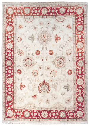 ik2445 - Classic Tabriz Rug (Wool) - 6' x 9' | OAKRugs by Chelsea high end wool rugs, hand knotted wool area rugs, quality wool rugs