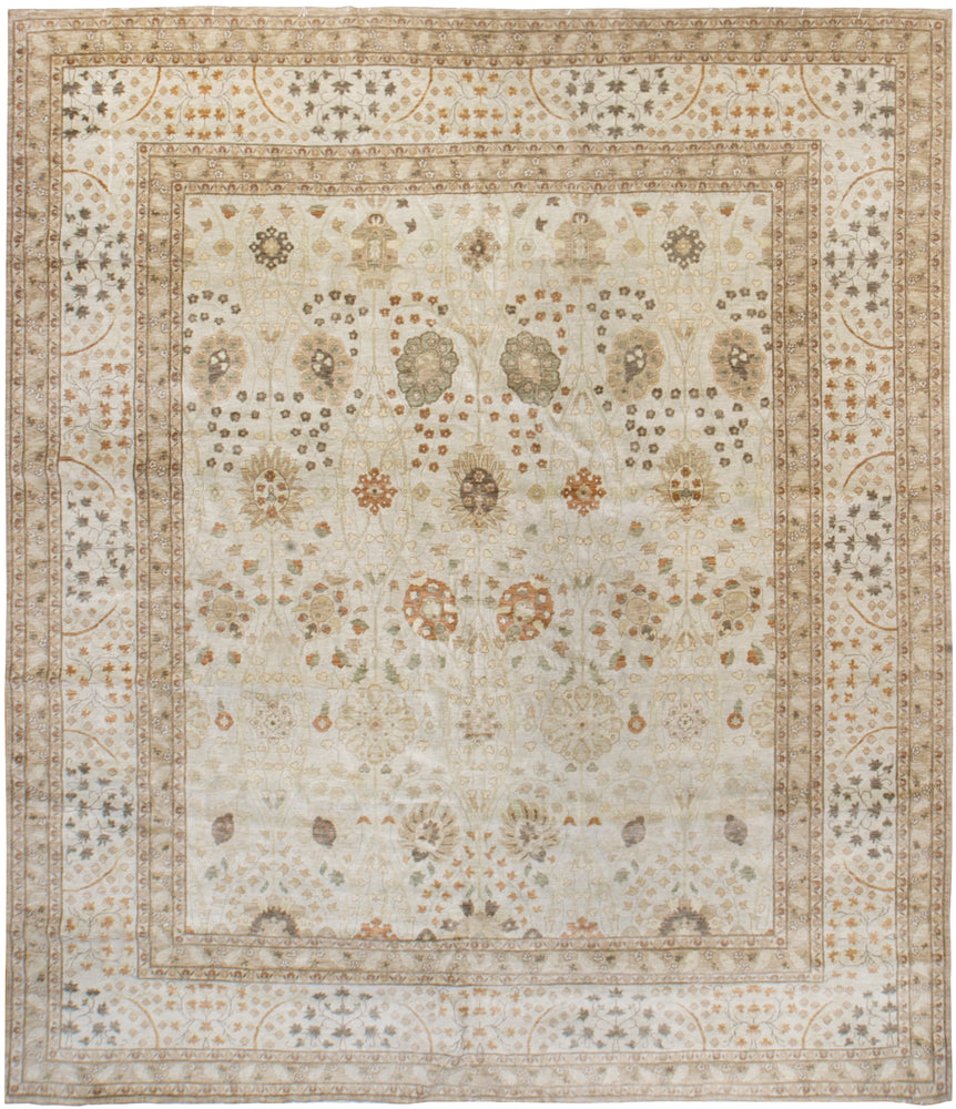 ik2450 - Classic Tabriz Rug (Wool) - 10' x 11 | OAKRugs by Chelsea affordable wool rugs, handmade wool area rugs, wool and silk rugs contemporary