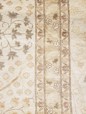 ik2450 - Classic Tabriz Rug (Wool) - 10' x 11 | OAKRugs by Chelsea high end wool rugs, hand knotted wool area rugs, quality wool rugs