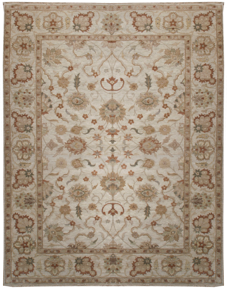 ik2452 - Classic Zeigler Rug (Wool) - 8' x 10' | OAKRugs by Chelsea affordable wool rugs, handmade wool area rugs, wool and silk rugs contemporary