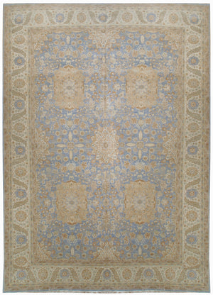 ik2521 - Classic Zeigler Rug (Wool) - 10' x 14' | OAKRugs by Chelsea affordable wool rugs, handmade wool area rugs, wool and silk rugs contemporary