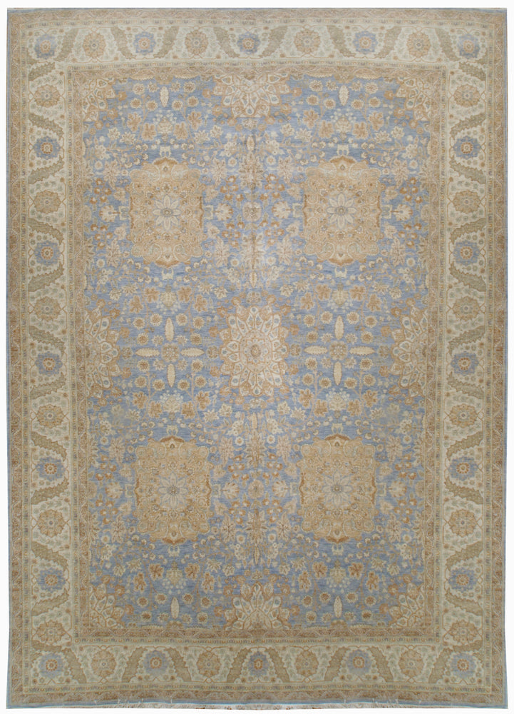 ik2521 - Classic Zeigler Rug (Wool) - 10' x 14' | OAKRugs by Chelsea high end wool rugs, hand knotted wool area rugs, quality wool rugs