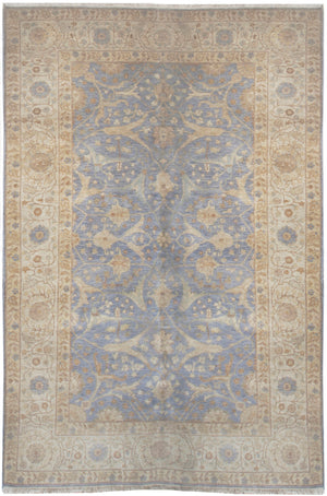 ik2551 - Classic Tabriz Rug (Wool) - 6' x 9' | OAKRugs by Chelsea affordable wool rugs, handmade wool area rugs, wool and silk rugs contemporary