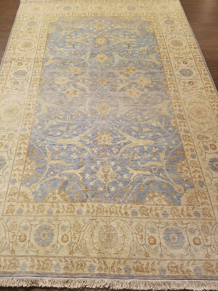 ik2552 - Classic Tabriz Rug (Wool) - 6' x 9' | OAKRugs by Chelsea wool bohemian rugs, good quality wool rugs, vintage wool braided rug