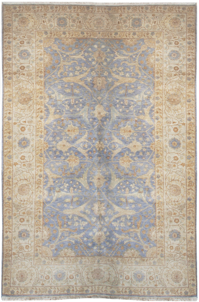 ik2552 - Classic Tabriz Rug (Wool) - 6' x 9' | OAKRugs by Chelsea high end wool rugs, hand knotted wool area rugs, quality wool rugs