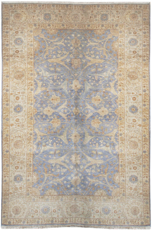 ik2552 - Classic Tabriz Rug (Wool) - 6' x 9' | OAKRugs by Chelsea affordable wool rugs, handmade wool area rugs, wool and silk rugs contemporary