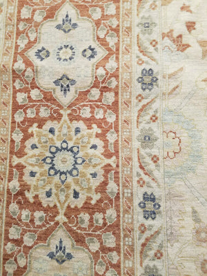 ik2578 - Classic Tabriz Rug (Wool) - 9' x 12' | OAKRugs by Chelsea high end wool rugs, hand knotted wool area rugs, quality wool rugs