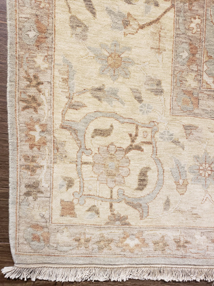 ik2595 - Classic Tabriz Rug (Wool) - 9' x 12' | OAKRugs by Chelsea high end wool rugs, hand knotted wool area rugs, quality wool rugs