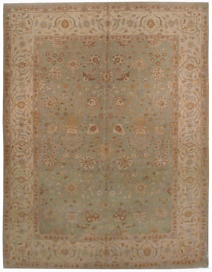 ik2595 - Classic Tabriz Rug (Wool) - 9' x 12' | OAKRugs by Chelsea affordable wool rugs, handmade wool area rugs, wool and silk rugs contemporary