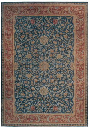 ik2597 - Classic Zeigler Rug (wool) - 9' x 12' | OAKRugs by Chelsea affordable wool rugs, handmade wool area rugs, wool and silk rugs contemporary