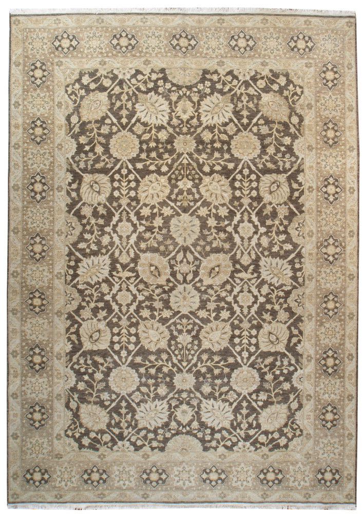 ik2613 - Classic Zeigler Rug (Wool) - 9' x 12' | OAKRugs by Chelsea high end wool rugs, hand knotted wool area rugs, quality wool rugs