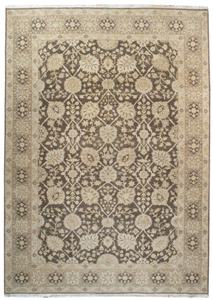 ik2613 - Classic Zeigler Rug (Wool) - 9' x 12' | OAKRugs by Chelsea affordable wool rugs, handmade wool area rugs, wool and silk rugs contemporary