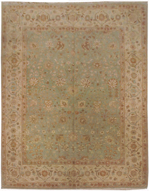 ik2624 - Classic Tabriz Rug (Wool) - 8' x 10' | OAKRugs by Chelsea affordable wool rugs, handmade wool area rugs, wool and silk rugs contemporary