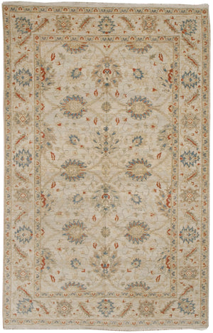 ik2627 - Classic Tabriz Rug (Wool) - 6' x 9' | OAKRugs by Chelsea affordable wool rugs, handmade wool area rugs, wool and silk rugs contemporary