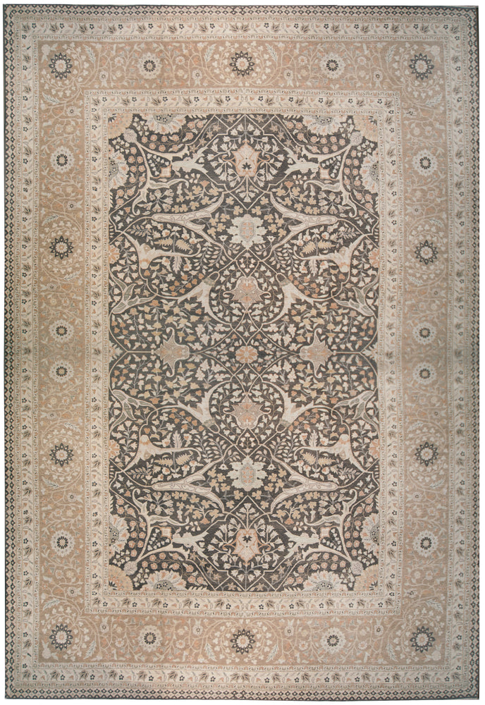 ik2664 - Classic Zeigler Rug (Wool) - 14' x 20' | OAKRugs by Chelsea affordable wool rugs, handmade wool area rugs, wool and silk rugs contemporary