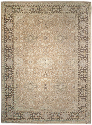 ik2671 - Classic Zeigler Rug (Wool) - 10' x 14' | OAKRugs by Chelsea high end wool rugs, hand knotted wool area rugs, quality wool rugs