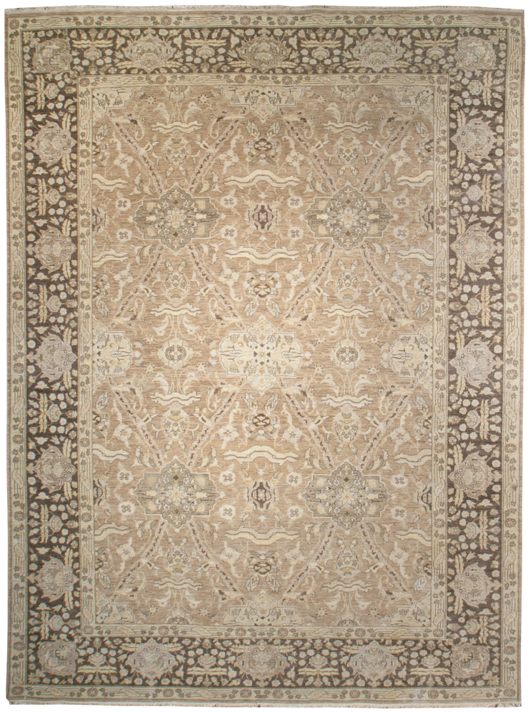 ik2671 - Classic Zeigler Rug (Wool) - 10' x 14' | OAKRugs by Chelsea affordable wool rugs, handmade wool area rugs, wool and silk rugs contemporary