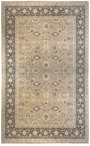 ik2672 - Classic Tabriz Rug (Wool) - 13' x 20' | OAKRugs by Chelsea affordable wool rugs, handmade wool area rugs, wool and silk rugs contemporary