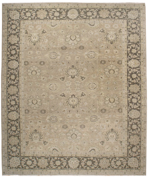 IK2701 - Classic Agra Rug (Wool) - 12' x 15' | OAKRugs by Chelsea affordable wool rugs, handmade wool area rugs, wool and silk rugs contemporary