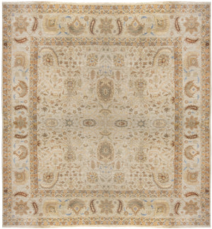 ik2703 - Classic Agra Rug (Wool) - 13' x 14' | OAKRugs by Chelsea affordable wool rugs, handmade wool area rugs, wool and silk rugs contemporary